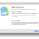 Leap, Yep 3.1.4 – Exporting Documents, iCloud and Scanning.