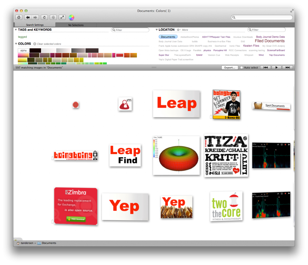 See the red swatch selected? See the red images...